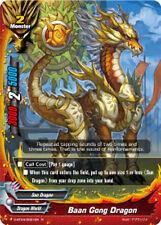 Buddyfight x 4 Baan Gong Dragon [D-BT04/0021EN R] English Mint Future Card
