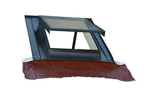 Lucernario finestra per tetto verticale modello top in for Finestra scorrevole verticale