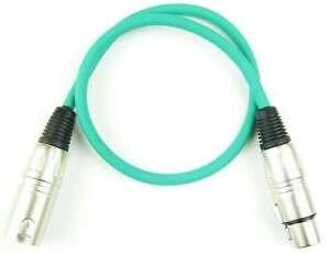Analytisch 0,5 M Mikrofonkabel GrÜn Symmetrisch Adam Hall Xlr Xlr 3 Pol Dmx Mikrofon Kabel Audiokabel & Adapter
