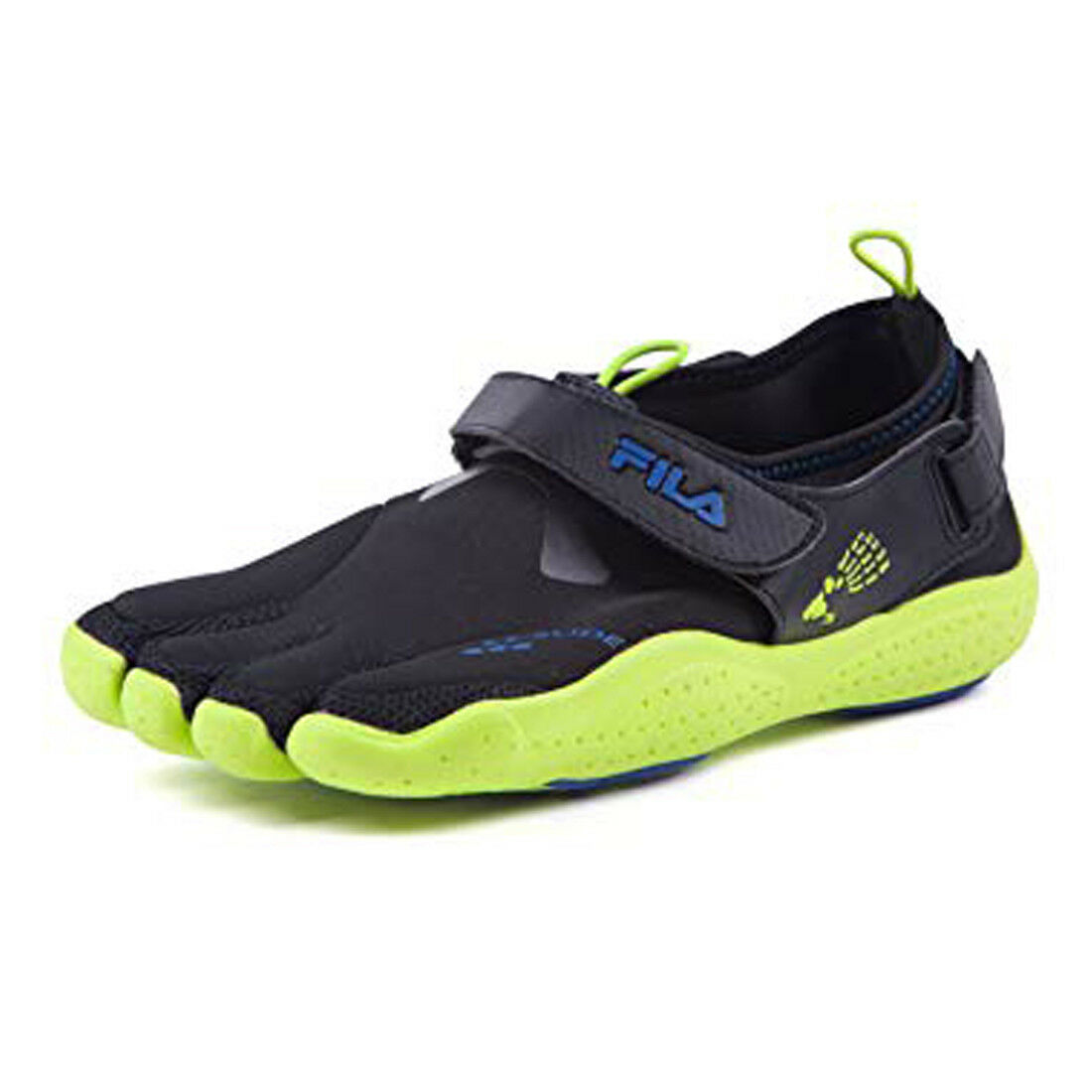 FILA SKELE-TOES EZ SLIDE Running Water Boat Beach shoes 1PK14074 green SIZE 10