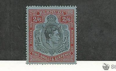 Bermuda, British, Postage Stamp, #124a (Perf 14) VF Mint, 1938