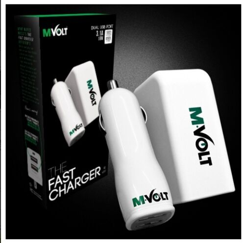 16W 3.1A Cell Phone Charge Wall Adapter Tablet iPAD Charger Heavy Duty Combo