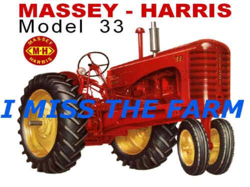 MASSEY HARRIS 33 NF TEE SHIRT