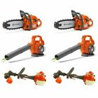 Husqvarna Toy Chainsaw (2-Pack), Leaf Blower(2-Pack) and Lawn Trimmer (2-Pack)