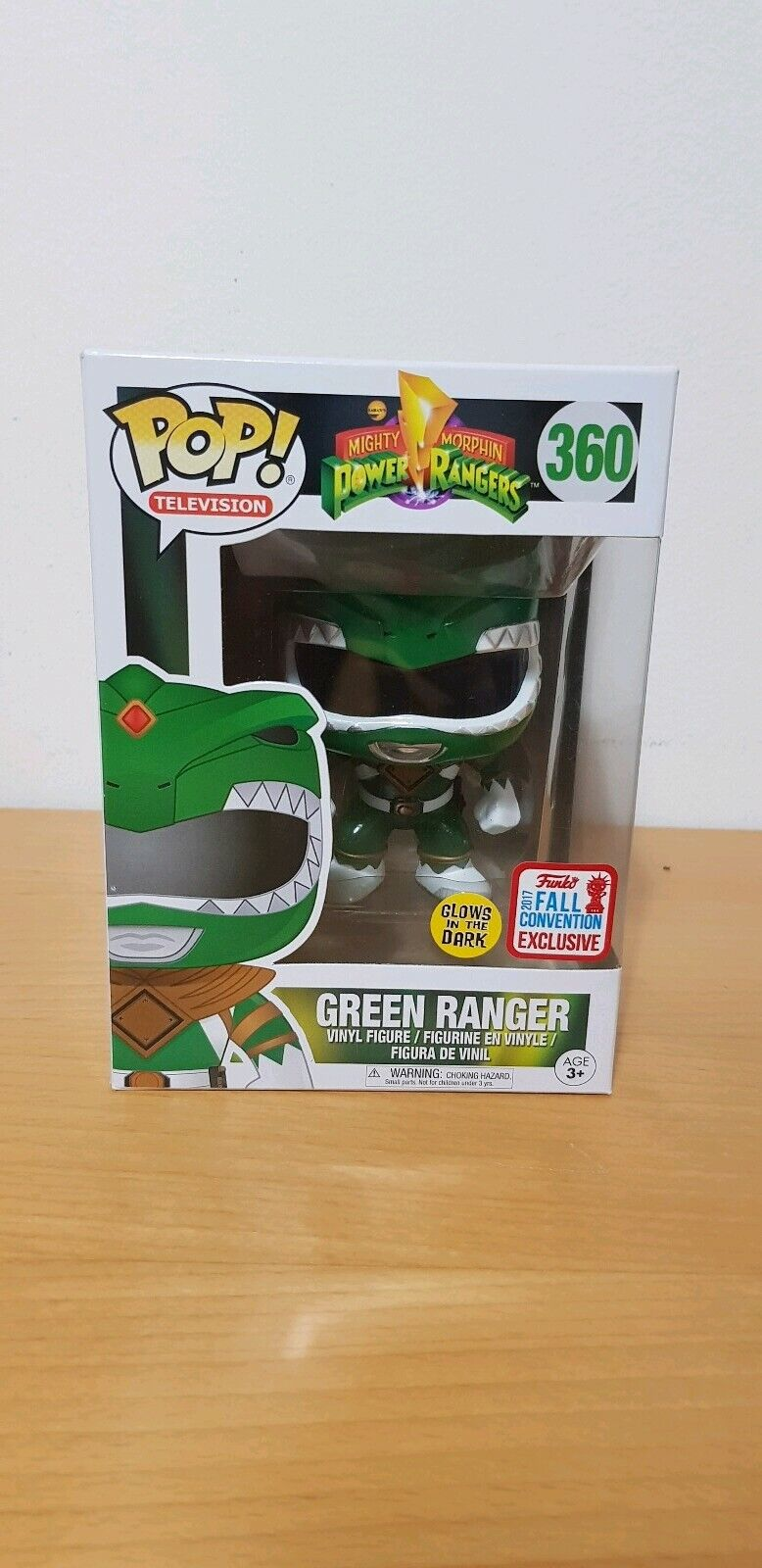 gran selección y entrega rápida Pop    Power Ranger - verde Ranger Glow Fall Convention 2017  bienvenido a orden