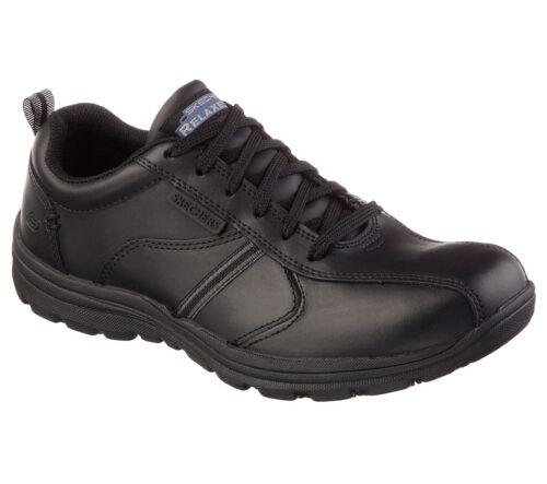 Frat Zapatos Sr Trabajo Ajuste Skechers Antideslizante Relajado Hobbes Hombre wq1RnIp