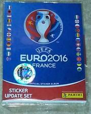 COMPLETO PANINI euro 2016 680 sticker album + 84 Update Set (completato)