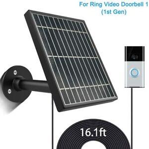 Solar-Panel-for-Ring-Video-Doorbell-1-1st-Gen-3-5W-Output-Aluminum-Alloy-Bracke