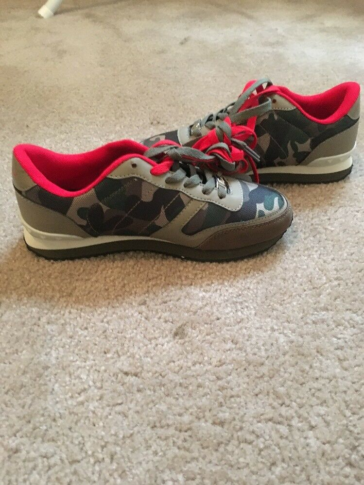 Baby Phat Wouomo Fashion scarpe da ginnastica Tennis scarpe Sz 7.5 MultiColoree scarpe