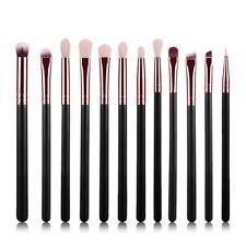 Pro 12Pcs Cosmetic Brush Makeup Brush Sets Eyeshadow Foundation Powder Kits Set