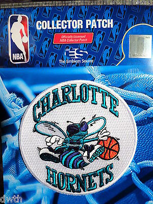 Sporting Goods Basketball Official Licensed Nba Charlotte Hornets Hardwood Classic Iron Or Sew On Patch Orders Are Welcome.