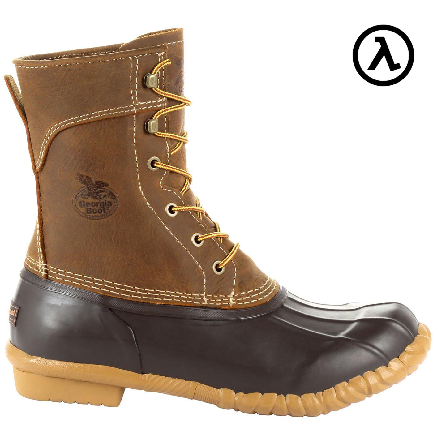 GEORGIA MARSHLAND UNISEX 8  DUCK BOOTS GB00275  ALL SIZES - NEW