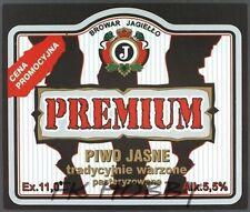 Poland Brewery Pokrówka Premium Beer Label Bieretikett Etiqueta Cerveza pk1.2