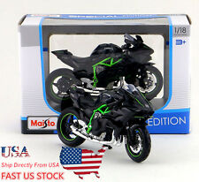 Item 5 US Shipping Maisto 118 Scale Kawasaki Ninja H2 R Motorcycle Collection