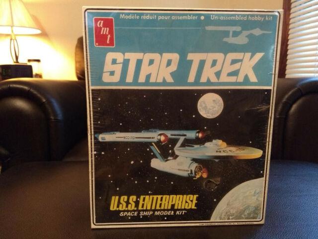 Spacecraft Kits Hobbies 1968 Original Issue Star Trek U.S.S ...