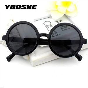 84bf9bd2538 Image is loading Yooske-Vintage-Round-Sunglasses-Women-Classic-Retro -Coating-