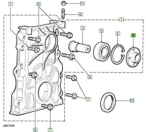 LAND-ROVER-GENUINE-PART-ADAPTOR-Discovery-2-L318-ERR7043