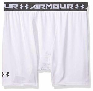 Under-Armour-Men-039-s-HeatGear-Armour-Compression-Mid-Shorts