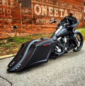 Image Is Loading 2017 2018 Harley Davidson Stretched Saddlebags And Rear