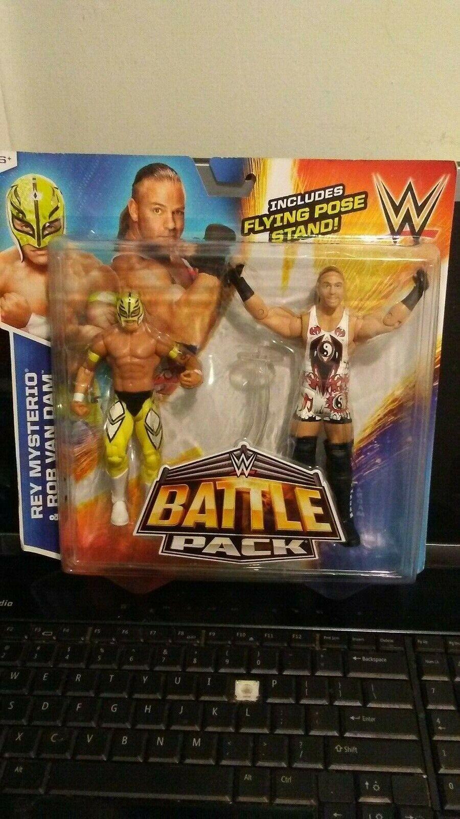 WWE Rey Mysterio & Rob Van Dam Action Figure