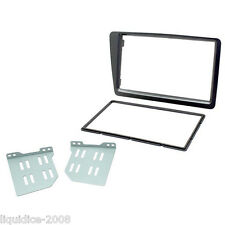 CT23HD19 HONDA CIVIC 2001 to 2005 SILVER DOUBLE DIN FACIA ADAPTER PANEL PLATE