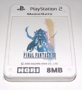Final-Fantasy-XII-Hori-MagicGate-PS2-Memory-Card-PlayStation-2-8MB