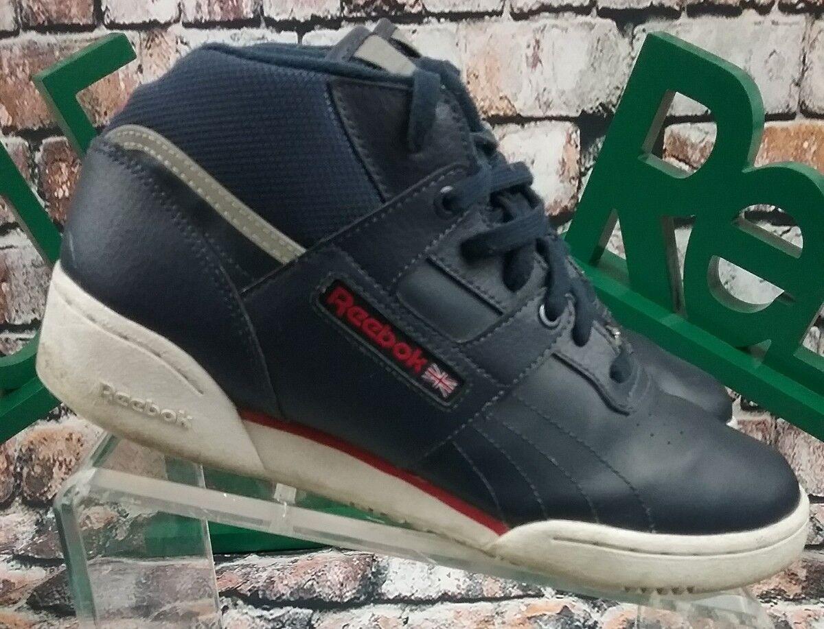 Reebok Classic hommes 30th Anniversary bleu High Leather High bleu Top Sneakers Sz 7 (21-9) ad1fd4
