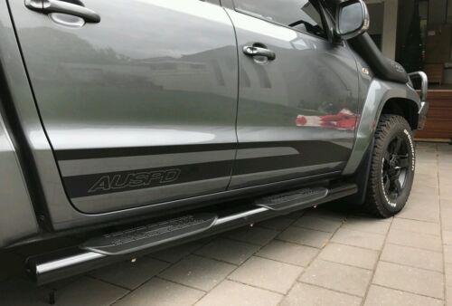 2011-2020 VW VOLKSWAGEN Amarok SIDE door stripes kit decals stickers