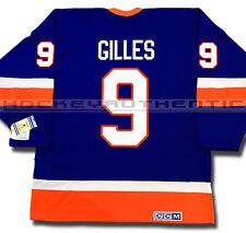 CLARK GILLIES NEW YORK ISLANDERS JERSEY CCM VINTAGE BLUE 1982