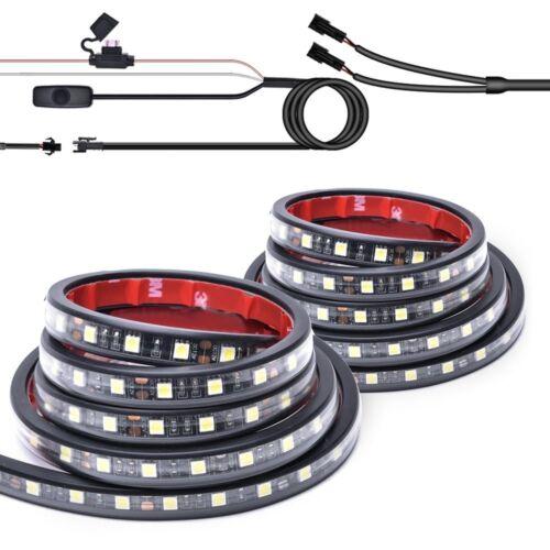 "MICTUNING 2Pcs 60/"" LED Cargo Truck Bed Light Strip Lamp Lighting Kit Waterproof"