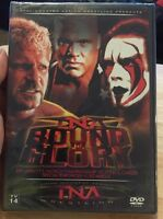 Tna Wrestling - Bound For Glory 2006 (dvd, 2007) Wwe Nxt Aj Styles Sting 3d