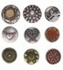 Buttons/Druckknöpfe für Lederarmband, verschiedene Motive