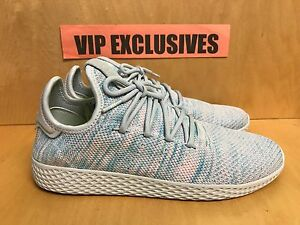 4d9e9f9ce Adidas Pharrell Williams Tennis HU LIGHT BLUE PW Human Race BY2671 ...
