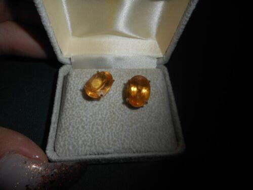 14K Topez November Birthstone Pierced Earrings