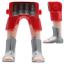 Playmobil Piernas Romano Egipcios Gladiadores Sandalias Caligae