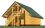 thumbnail 3 - LOG GARAGE KIT #LH_BG-117 ECO WOOD PREFAB DIY BUILDING CABIN HOME MODULAR