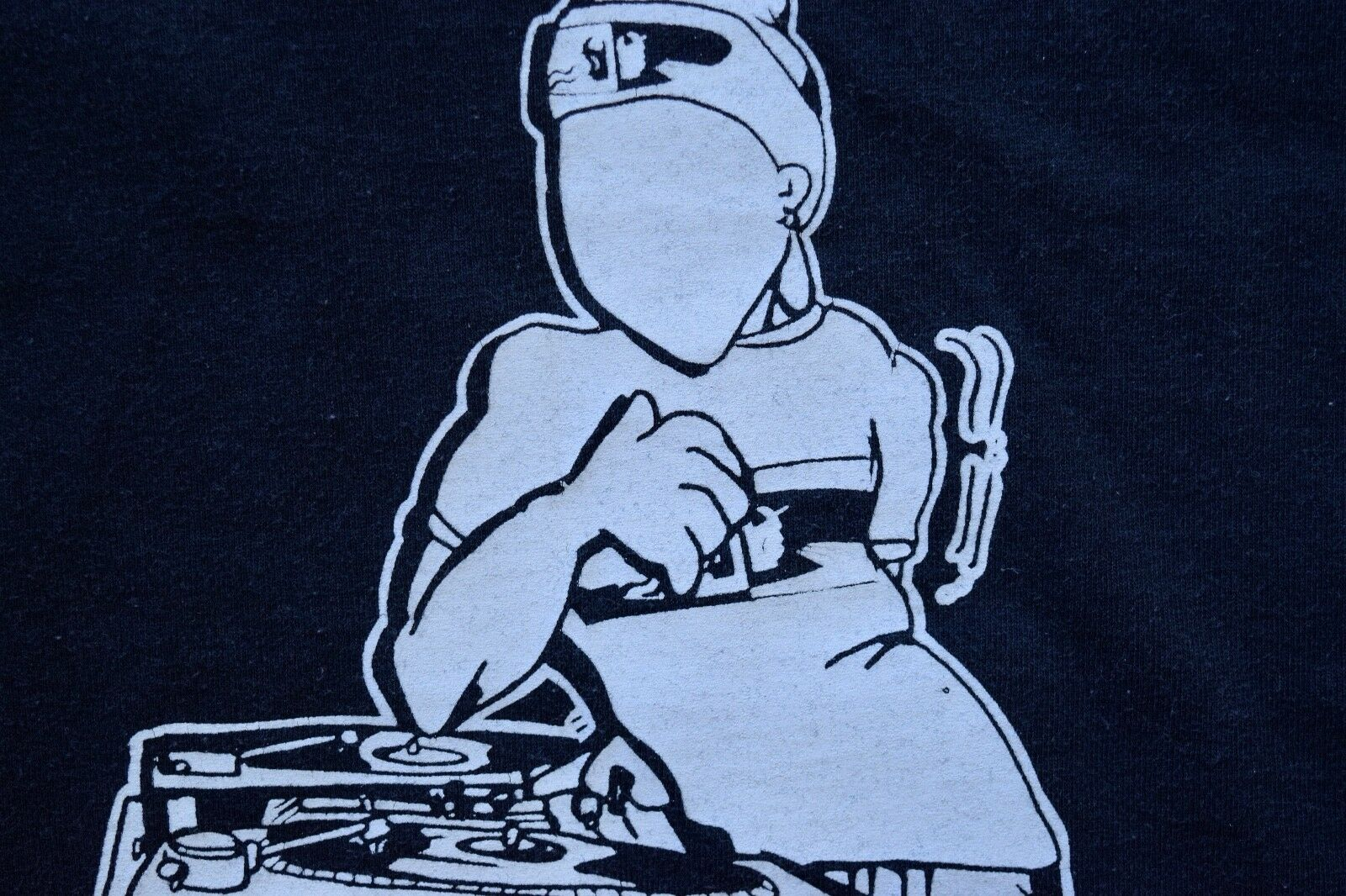 1991 DMC international DJ competition vtg 90s rap hip hop T-shirt isp dj q bert
