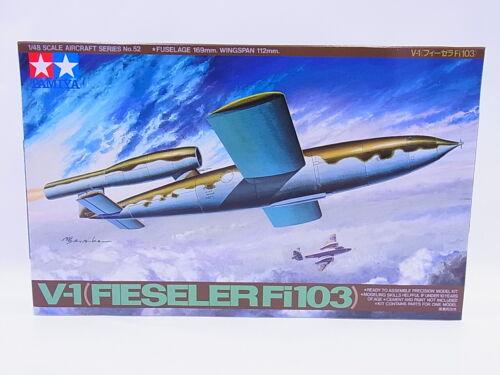 LOT 67045Tamiya 61052 V-1 Fieseler Fi103 Bausatz 1:48 NEU in OVP