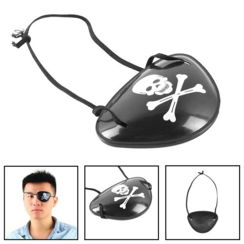 6pcs Pirate Eye Patch Halloween Birthday Party Favor Bag Costume Dress Up Toy BG