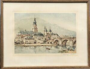 Aquatintaradierung-Salzburg-Austria-Wolfgang-Kick-1913-1983-29-x-37-5-cm