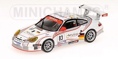 Porsche 911 Gt3-rsr Team Seikel 24h Le Femmes 2006 Nielsen 1:43 Model MINICHAMPS | Outlet Store Online