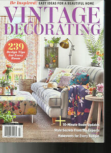 VINTAGE DECORATING MAGAZINE, EASY IDEAS FOR A BEAUTIFUL ...
