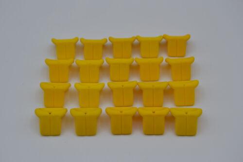 LEGO 20 x Figurenzubehör Schwimmweste Rettungsweste gelb yellow life jacket 2610