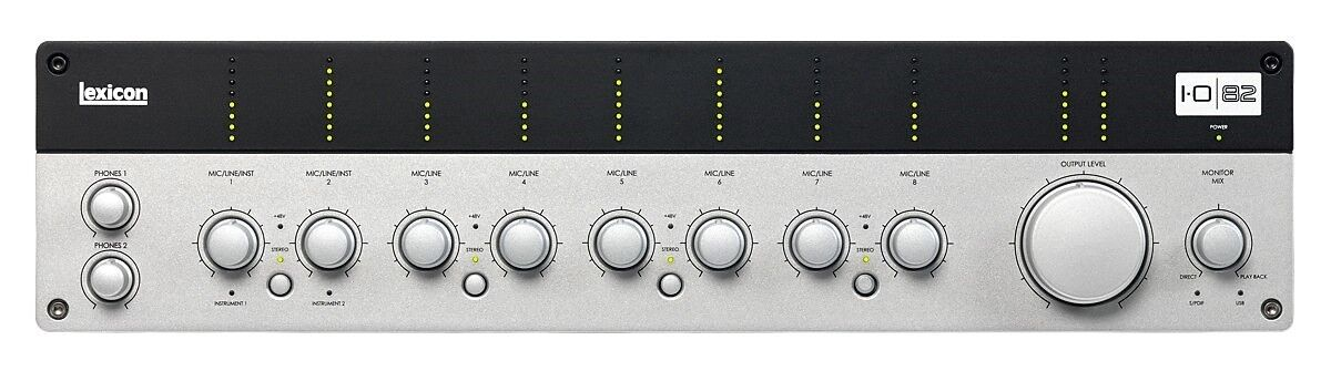 Lexicon I-O 82 Interface audio audio audio USB, 8+2 entrées, 2 sorties 67efe3