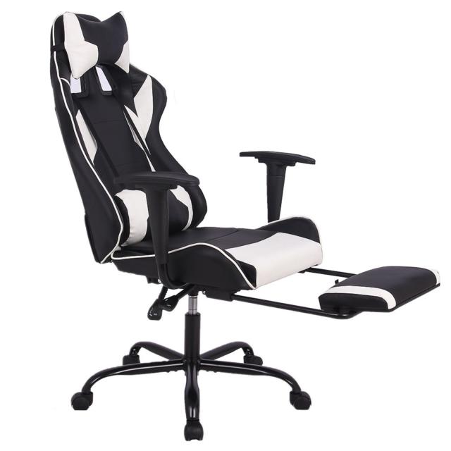 Fantastic Bestoffice Fdw Hl Oc468 White Ergonomic Racing Style Adjustable Office Gaming Chair White Uwap Interior Chair Design Uwaporg