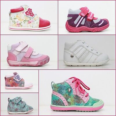 Baby Girl Shoes Bartek Toddlers Size: 2-7.5uk 18-25eur 100%leather Spring Autumn Per Produrre Un Effetto Verso Una Visione Chiara