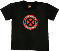 X-men Xavier School Logo X-man Emblem T-shirt Medium W/ License Tag