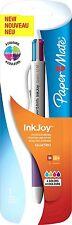 Paper Mate Inkjoy Quatro Retractable Ball Pen Medium Tip 1.0mm - Assorted Fun Co