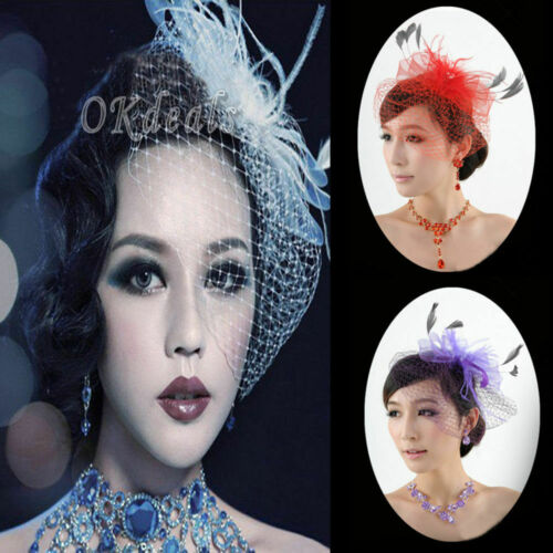 Hot Net Bow Birdcage Bridal Headdress Wedding Face Veil