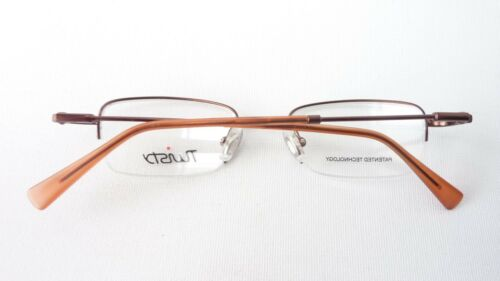 Stabil Grösse M Brillen-fassung Brille Aus Metall In Braun Mit Kleinen Gläsern Damen-accessoires